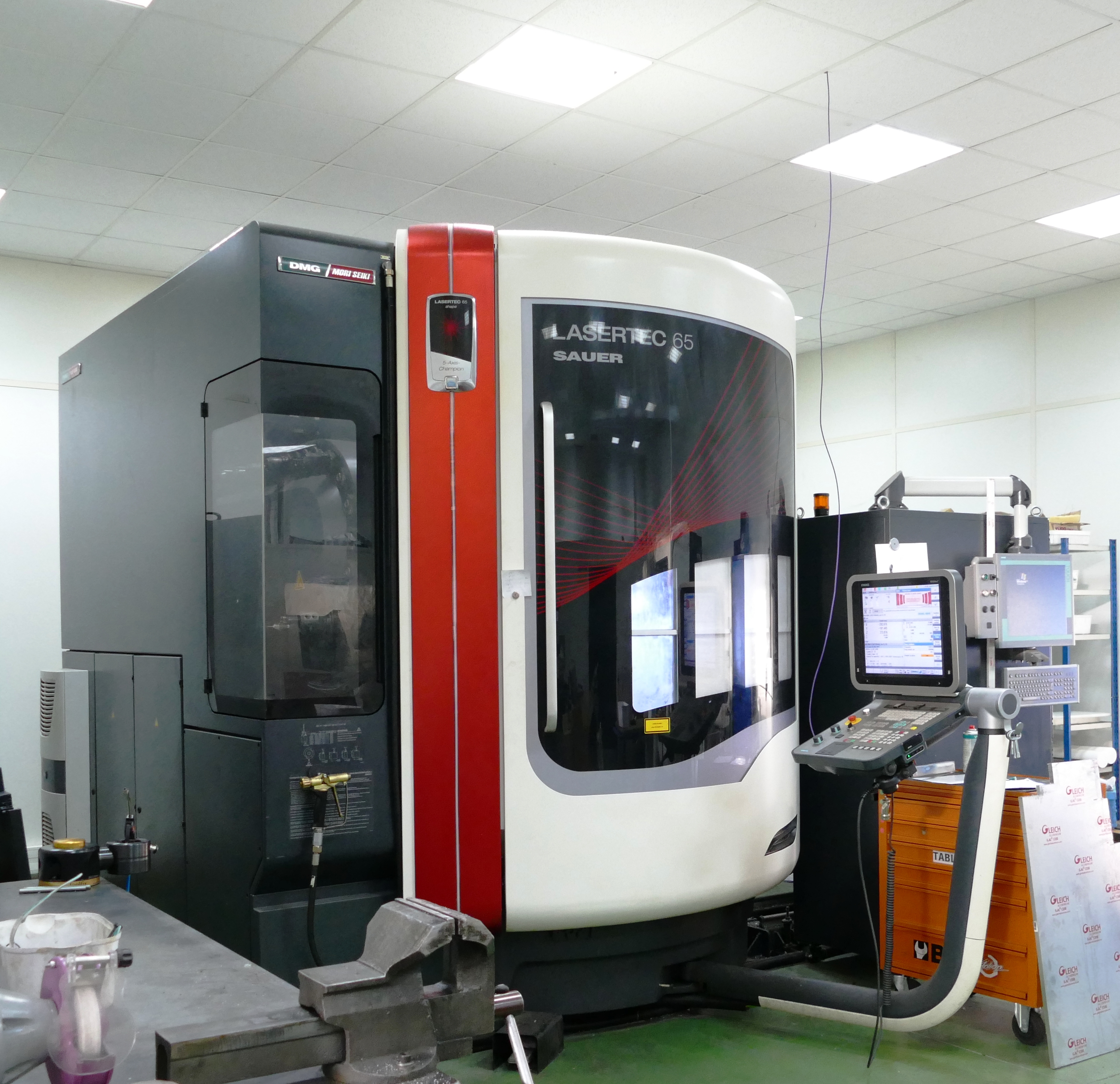 machine fraisage texturation
